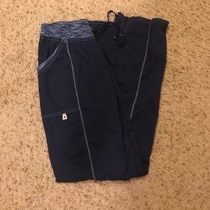 XS navy scrub bottoms